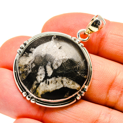 Pinolith Jasper Pendants handcrafted by Ana Silver Co - PD746866