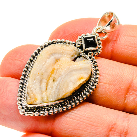 Desert Druzy Pendants handcrafted by Ana Silver Co - PD746869