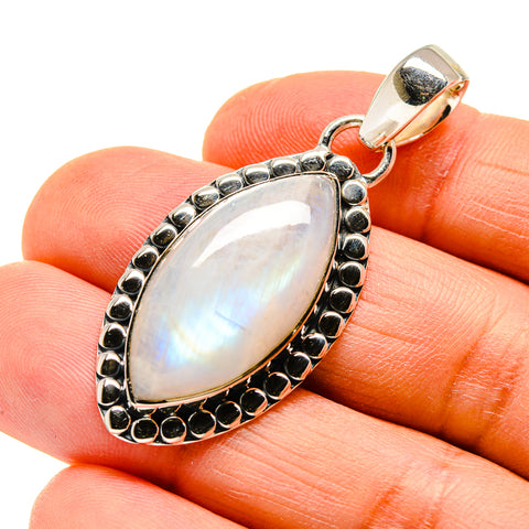 Rainbow Moonstone Pendants handcrafted by Ana Silver Co - PD746954