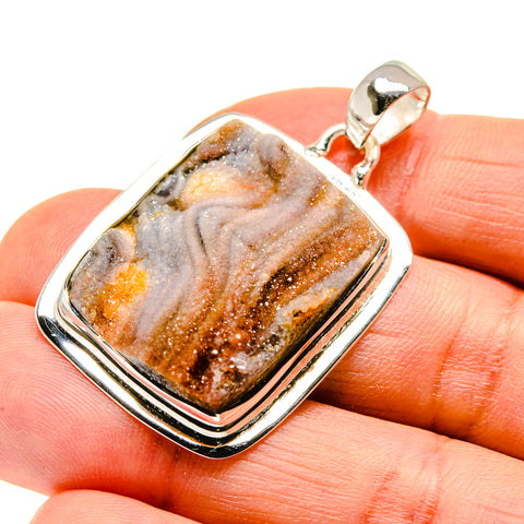 Desert Druzy Pendants handcrafted by Ana Silver Co - PD746968