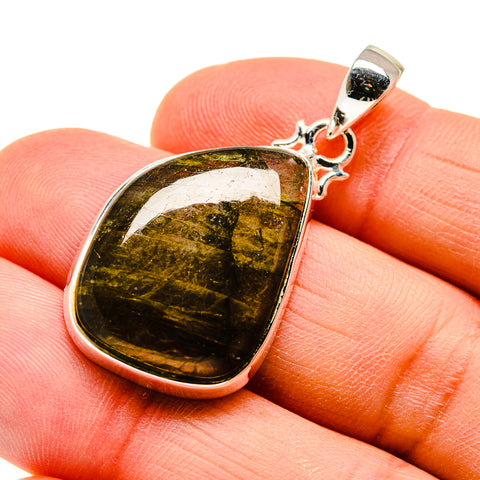 Labradorite Pendants handcrafted by Ana Silver Co - PD747050