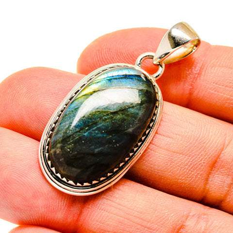Labradorite Pendants handcrafted by Ana Silver Co - PD747120