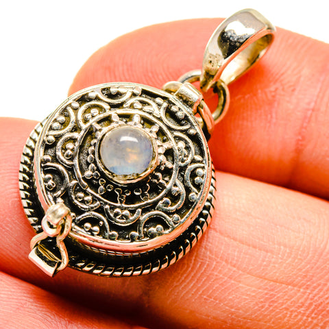 Rainbow Moonstone Pendants handcrafted by Ana Silver Co - PD747153