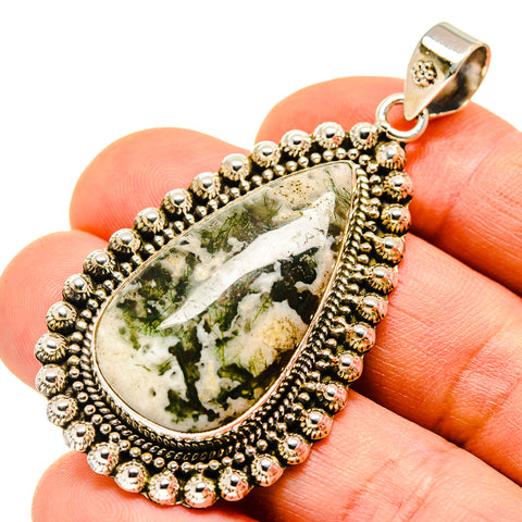 Ocean Jasper Pendants handcrafted by Ana Silver Co - PD747204
