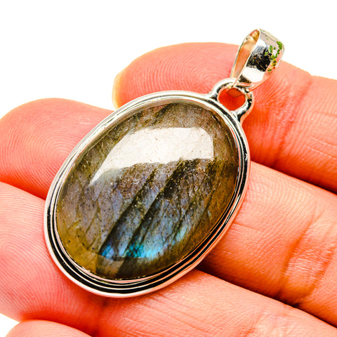 Labradorite Pendants handcrafted by Ana Silver Co - PD747259