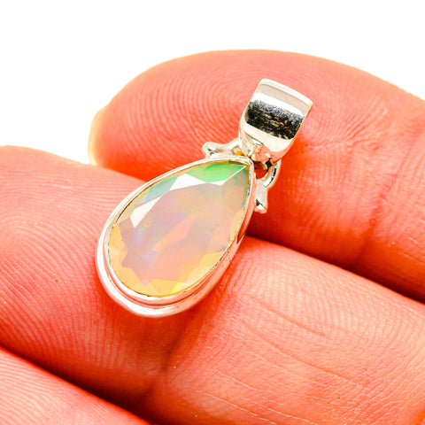 Ethiopian Opal Pendants handcrafted by Ana Silver Co - PD747290
