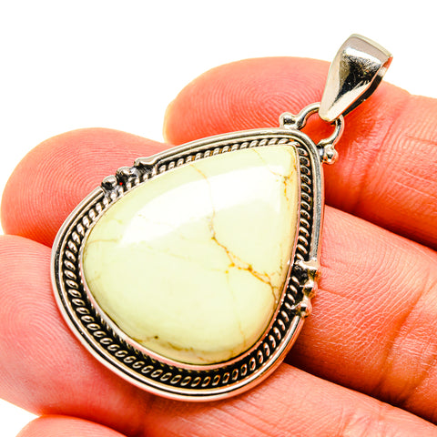 Lemon Chrysoprase Pendants handcrafted by Ana Silver Co - PD747351