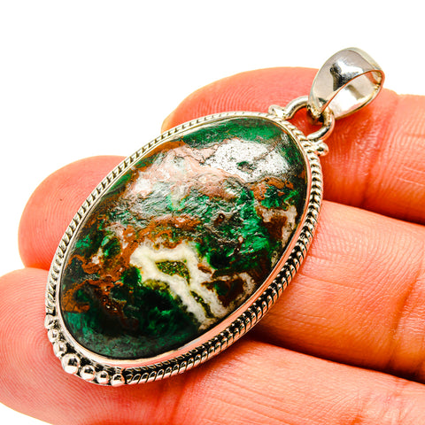 Chrysocolla Pendants handcrafted by Ana Silver Co - PD747634