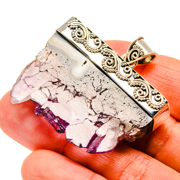 Amethyst Stalactite Pendants handcrafted by Ana Silver Co - PD747658