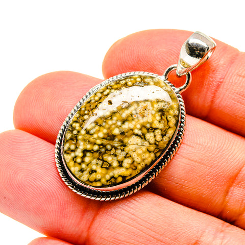 Ocean Jasper Pendants handcrafted by Ana Silver Co - PD747763