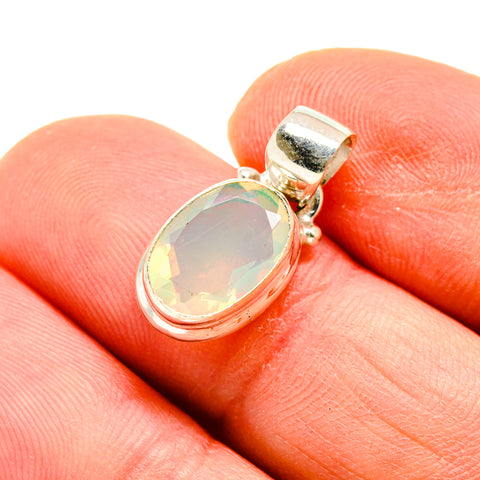 Ethiopian Opal Pendants handcrafted by Ana Silver Co - PD747803