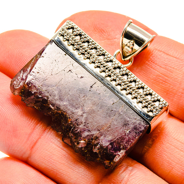 Amethyst Stalactite Pendants handcrafted by Ana Silver Co - PD747910