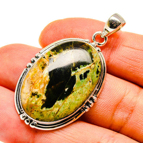 Rainforest Opal Pendants handcrafted by Ana Silver Co - PD748245