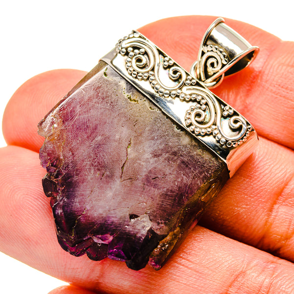 Amethyst Stalactite Pendants handcrafted by Ana Silver Co - PD749207