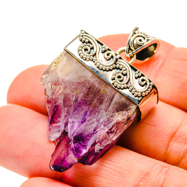 Amethyst Stalactite Pendants handcrafted by Ana Silver Co - PD750442