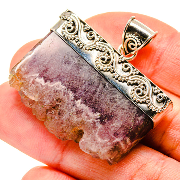 Amethyst Stalactite Pendants handcrafted by Ana Silver Co - PD750577