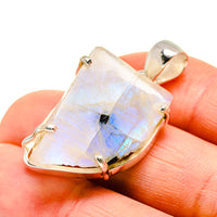 Rainbow Moonstone Pendants handcrafted by Ana Silver Co - PD752174