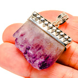 Amethyst Stalactite Pendants handcrafted by Ana Silver Co - PD752184
