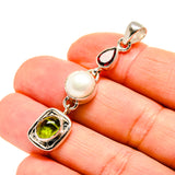 Peridot Pendants handcrafted by Ana Silver Co - PD753613