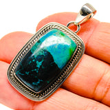 Chrysocolla Pendants handcrafted by Ana Silver Co - PD755314