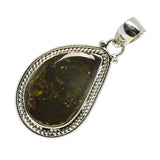 Ammolite Pendants handcrafted by Ana Silver Co - PD713427