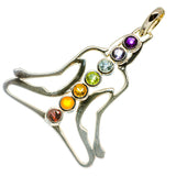 Multi-Stone Chakra Pendants handcrafted by Ana Silver Co - PD732805