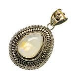 Rainbow Moonstone Pendants handcrafted by Ana Silver Co - PD734913