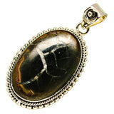Septarian Geode Pendants handcrafted by Ana Silver Co - PD737711