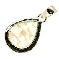 Rainbow Moonstone Pendants handcrafted by Ana Silver Co - PD739196