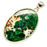 Chrysocolla Pendants handcrafted by Ana Silver Co - PD739574