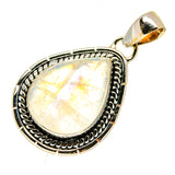 Rainbow Moonstone Pendants handcrafted by Ana Silver Co - PD739639