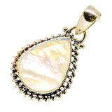 Rainbow Moonstone Pendants handcrafted by Ana Silver Co - PD739979