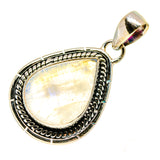 Rainbow Moonstone Pendants handcrafted by Ana Silver Co - PD740430