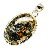 Plume Agate Pendants handcrafted by Ana Silver Co - PD741012