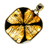 Chiastolite Pendants handcrafted by Ana Silver Co - PD741823