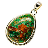 Chrysocolla Pendants handcrafted by Ana Silver Co - PD745967