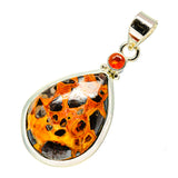 Chert Breccia, Carnelian Pendants handcrafted by Ana Silver Co - PD746177