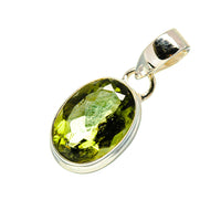 Czech Moldavite Pendants handcrafted by Ana Silver Co - PD752495