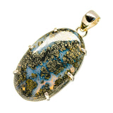 Pyrite Agate Pendants handcrafted by Ana Silver Co - PD753710