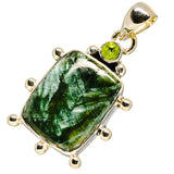Seraphinite Pendants handcrafted by Ana Silver Co - PD755356