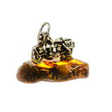 Baltic Amber Charms handcrafted by Ana Silver Co - PW1010