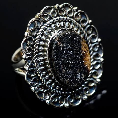 Tektite Rings handcrafted by Ana Silver Co - RING11601