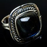 Labradorite Rings handcrafted by Ana Silver Co - RING11618