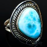Larimar Rings handcrafted by Ana Silver Co - RING11688