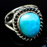 Larimar Rings handcrafted by Ana Silver Co - RING12182