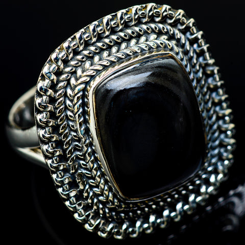 Psilomelane Rings handcrafted by Ana Silver Co - RING12196