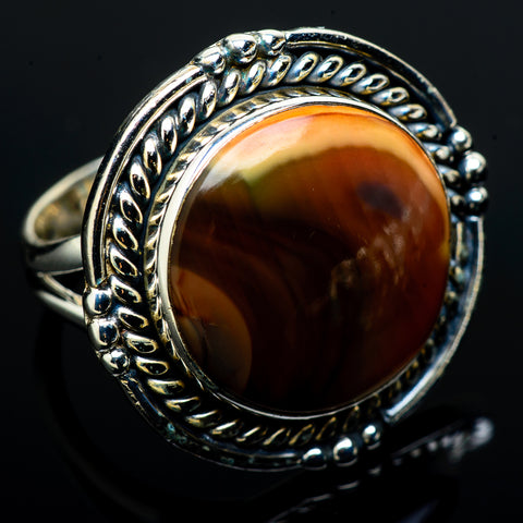 Imperial Jasper Rings handcrafted by Ana Silver Co - RING12783