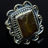 Labradorite Rings handcrafted by Ana Silver Co - RING12876