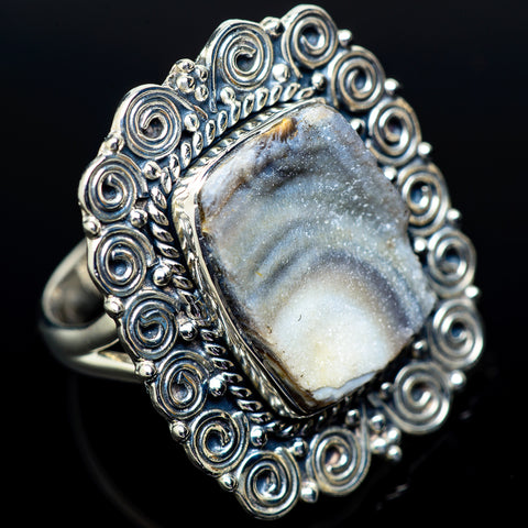 Desert Druzy Rings handcrafted by Ana Silver Co - RING13291