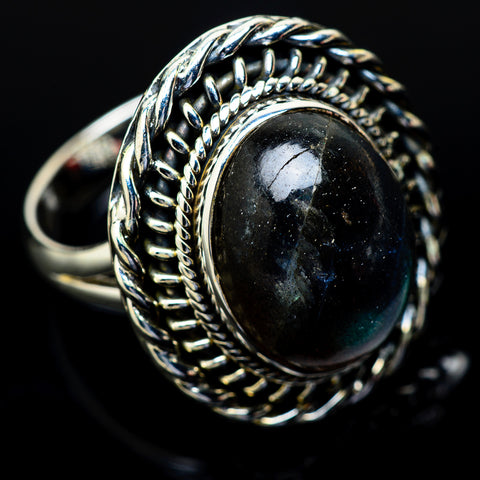 Labradorite Rings handcrafted by Ana Silver Co - RING14012